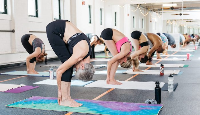 Горячая йога - hot yoga