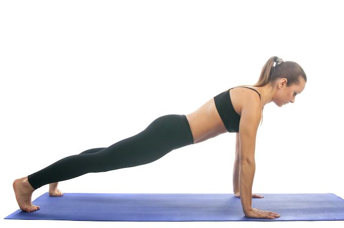 йога для похйдения планка