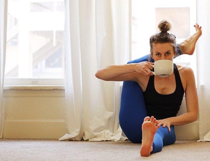 йога для похудения и питание