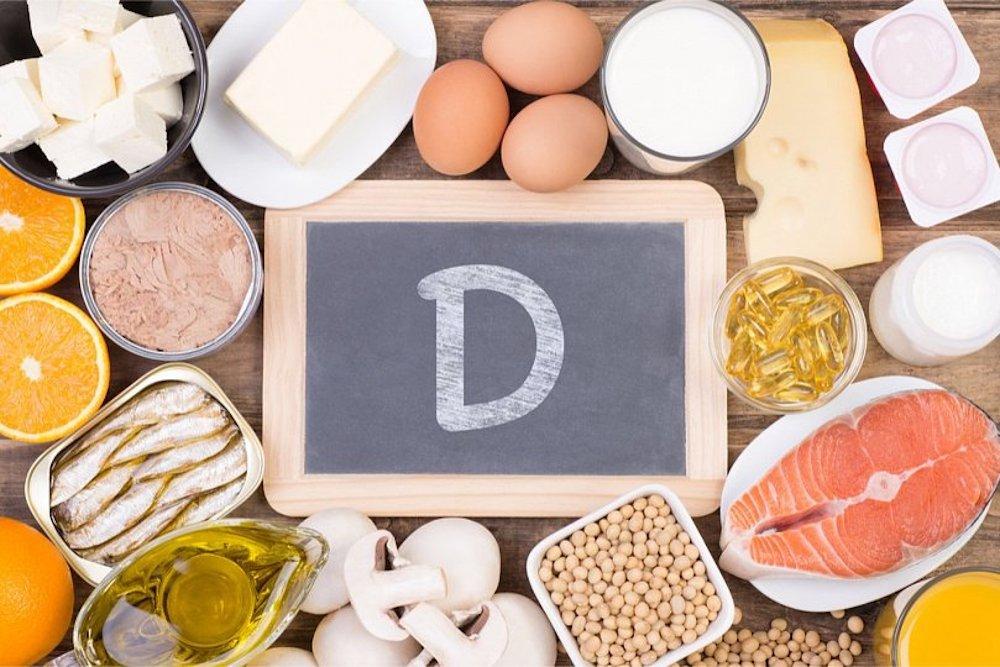 продуктов, содержащих витамин D